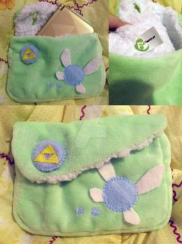 Zelda 3DS XL Pouch by UraHameshi
