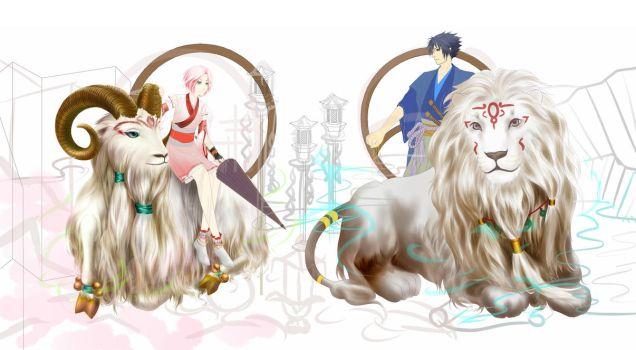 Unfinished SS Zodiac For Lunar New Year by humonster