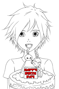 [Big Hero 6] Happy birthday! by ChibiToru