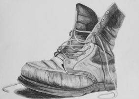 Old shoe by Anbeads