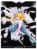 SPIDER GWEN by W-arting