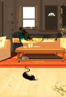 Just kicking back. by PascalCampion