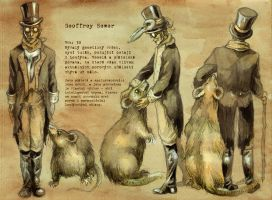 Geoffrey Sewer by MadLittleClown