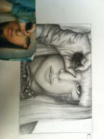Drawin of Lady Gaga by DontEatMyPiexD