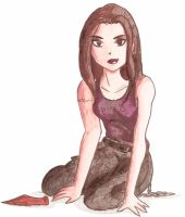 Faith Lehane by Glee-chan