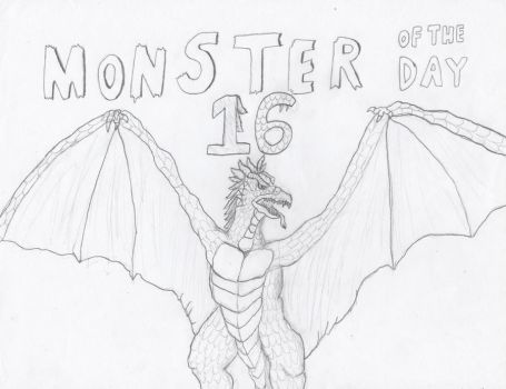 Monster of the day 16 by gojira92