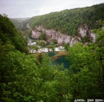 Rainy Day at Plitvice Lakes 2 by ivoturk