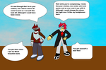 :CE: Cloth Swap Conversation by spade9180