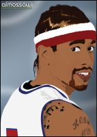 Allen Iverson goes vector by mossawi