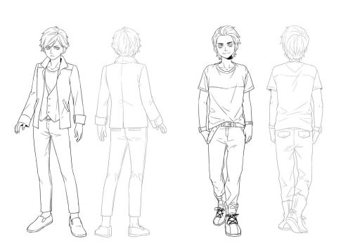 character design male - 2 by 1001yeah