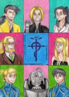 Fullmetal Alchemist Brotherhood by chlsjiles