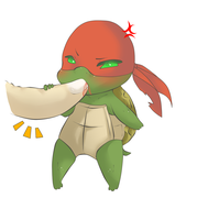 Baby Raphael by draw4you1995