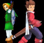 Link and Lloyd [MMD] by stopmotionOSkun