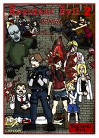 Resident Evil 2 Poster by Jacob-R-Goulden