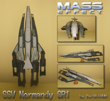 Paper SSV Normandy SR1 by DaiShiHUN