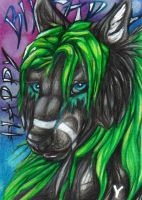 Wolflife Present ACEO by Sternen-Gaukler