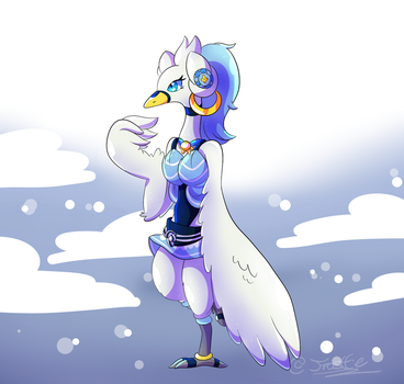 A Swanna Rito!!! by frostlie