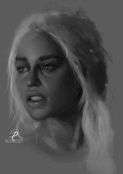 Khaleesi portrait by Pachorriento