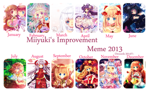 2013 Improvement Meme by Maruuki