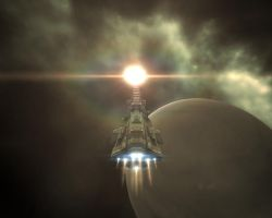 EVE - Rokh Into The Sun by MoD1982