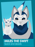 Miles the swift by The-Mystic-Wolf