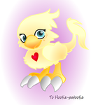 Hootabo: Hoots the Chocobo by G-gage