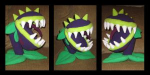 Chomper Plushie by penguinluv4ever