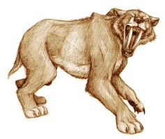 smilodon populator by timacs