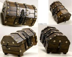 Treasure Chest Stock by Thaily-stock
