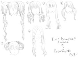Girls Hair Tutorial by MasterTofu96
