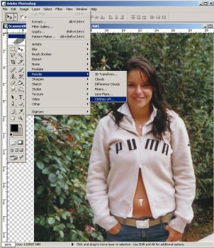 How to get naked in Photoshop. by ChuckNorkis