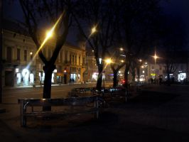 center of my home town by danamis