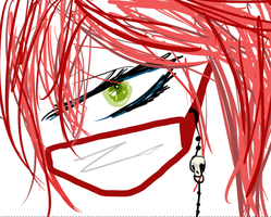 Grell scribble by fluffpuffgerbil