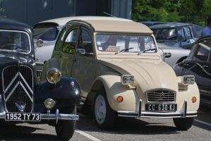 Citroens in Savoy by organicvision