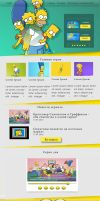 Simpsons_Home_page by MilaHaulitz