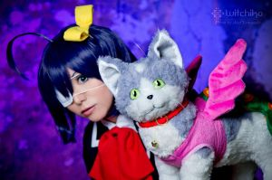 Rikka and Chimera by Witchiko