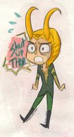 quit your whining little loki by RadJinja