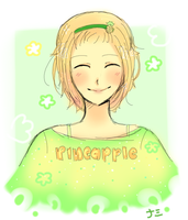 Pineappuru by namiirin