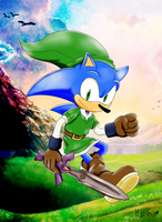Legend of Sonic Lost World by KonKonna