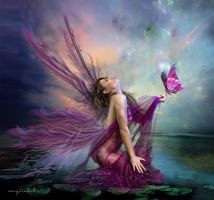 Pink Fairy by solsan