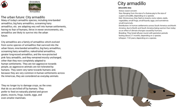 Urban future - City armadillo by dylan613
