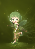 The little leaf nymph by TanSugar
