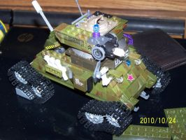 UNSC Bonaparte Raccoon Tank 08 by coonk9