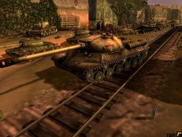 IS-3 and IS-2, to Berlin by rainamechan