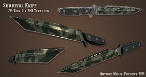 Survival Knife by WriteNRun