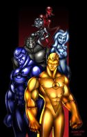 Metal Men by spicemaster