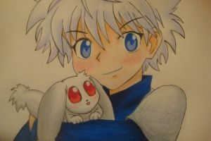 Killua and With by Highway3