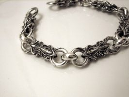 Silver Chain in Progress by Ruinarchy
