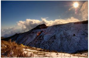 Snow at Madeira Island I by nmdelgado