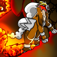 Pokemon Challenge -  Entei by SkyTheLugia